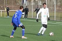 Marek Plašil (č. 25) vsítil dva góly rezervy Votroků.