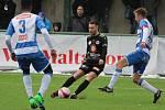 Zimní fotbalová Tipsport liga: FC Hradec Králové - FK Ústí nad Labem.