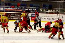 Hokejová extraliga staršího dorostu, čtvrtfinále play off: Královští lvi Hradec Králové - HC ČSOB Pojišťovna Pardubice.