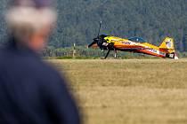 Mistrovství Evropy v akrobatickém létání v Moravské Třebové.