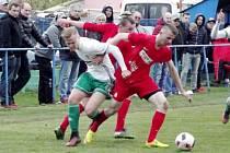 Česká fotbalová liga: SK Převýšov - FC Olympia Hradec Králové.
