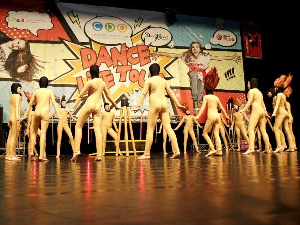 Východočeské regionální kolo mistrovství České republiky Czech Dance Organization.