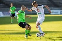 Fotbalová národní liga FC Votroci Hradec Králové vs. FK Viktoria Žižkov