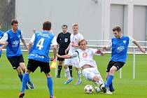 Juniorská liga ve fotbale: FC Hradec Králové - FC MAS Táborsko.