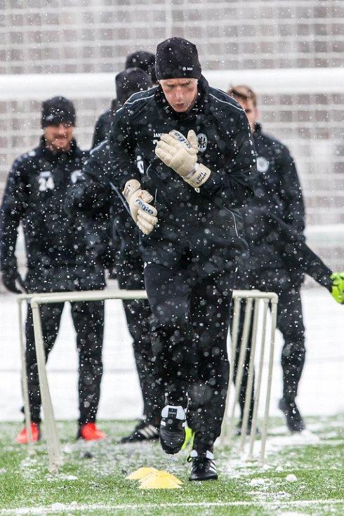 Zimní příprava fotbalistů FC Hradec Králové.