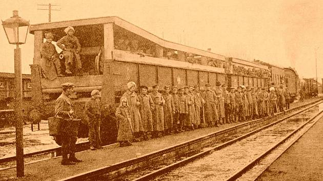 Karel Janouch se účastnil s rotou také obrany strategicky důležité Transsibiřské magistrály