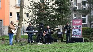 První koncert po dlouhé době. V Hradci zahrála kapela Terne Čhave
