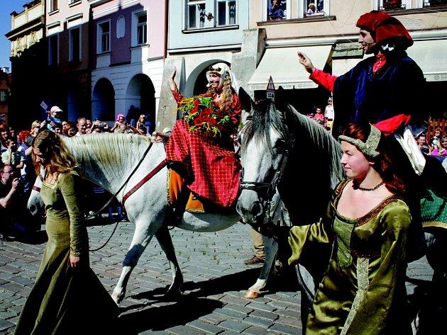 Slavnosti královny Elišky v Hradci Králové.