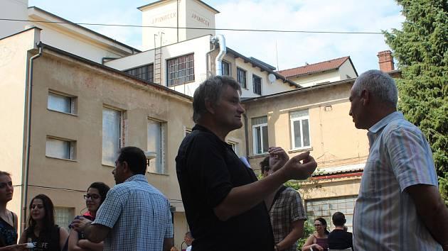 Festival Uprchlení v Hradci Králové.