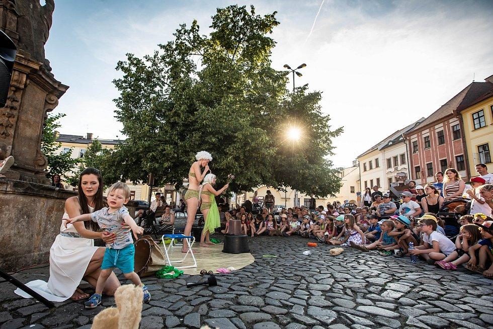Festival Divadlo evropských regionů v Hrdci Králové.