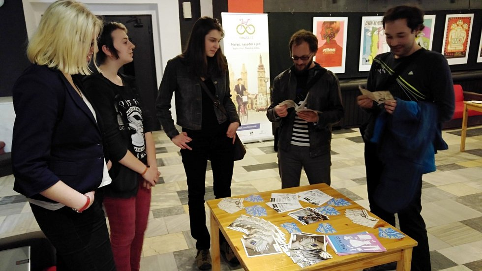 Podpora fair trade v královéhradeckém kině Bio Central.