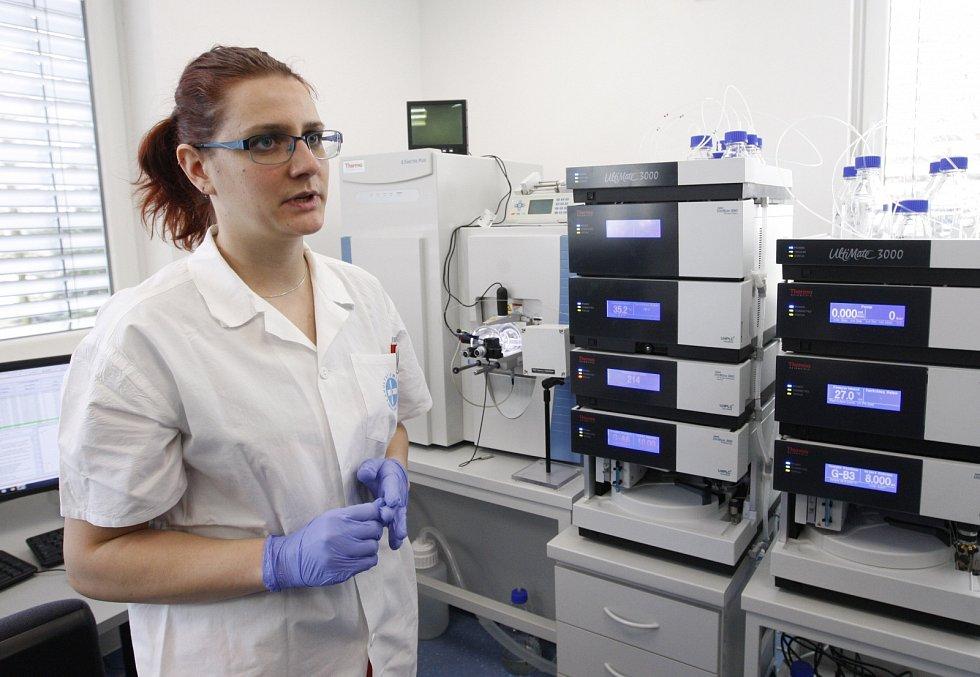 Hmotnostní spektrometr vědců z Centra biomedicínského výzkumu při Fakultní nemocnici Hradec Králové.