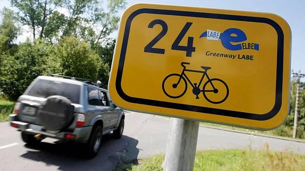 Hradecké cyklostezky