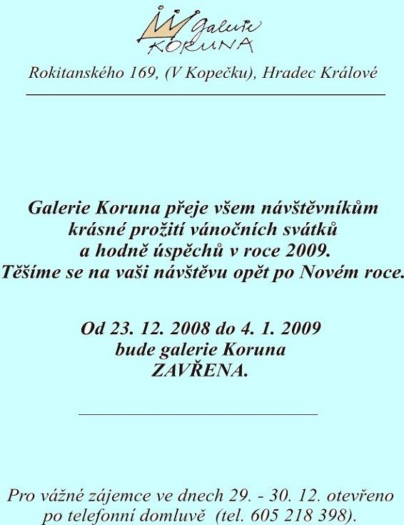 Novoročenka galerie Koruna