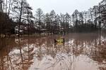 Povodňová situace na Královéhradecku.