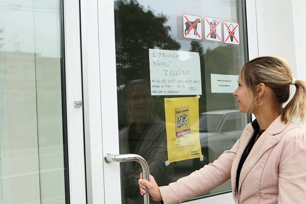 Vykradená pošta na Novém Hradci Králové