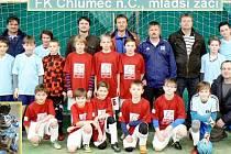 Fotbaloví mladší žáci FK Chlumec nad Cidlinou.