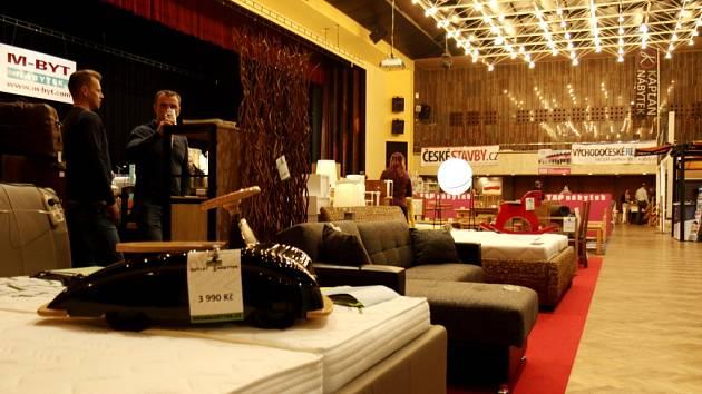 Bytová show v královéhradeckém Kongresovém centru Aldis.