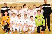 Mladší žáci U13 FC Hradec Králové.