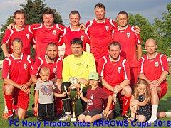Vítěz Arrows Cupu - Nový Hradec Králové.