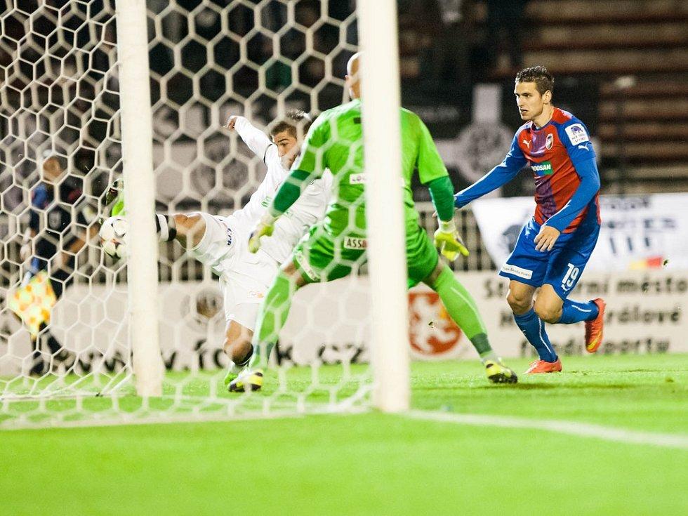 Osmifinále fotbalového Poháru FAČR: FC Hradec Králové - FC Viktoria Plzeň.