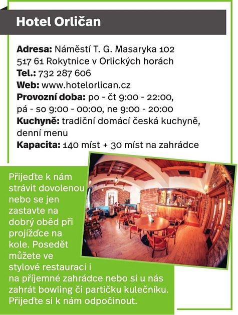 Hotel Orličan, Rokytnice vOrlických horách