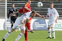 Fotbalová Gambrinus liga: FC Hradec Králové - FK Dukla Praha.