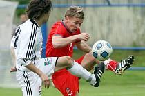 Přátelské utkání FC Hradec Králové - ČR '21' 1:2 proběhlo v Novém Bydžově 18. května.