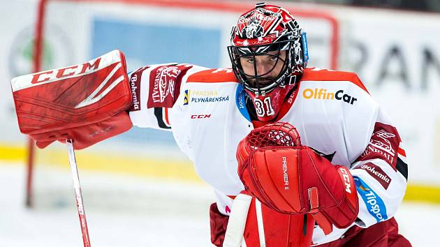 Hokejová extraliga: Mountfield HK - HC Kometa Brno.