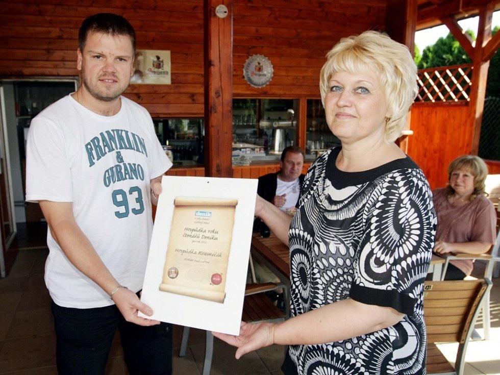 Hospůdka Kvasničák v hradecké části Plotiště nad Labem - vítěz projektu Hospůdka roku 2012.