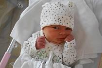 ROZÁLIE PIŠTOROVÁ poprvé vykoukla na svět 21. srpna v 11.56 hodin. Měřila 44 cm a vážila 2770 g. Potěšila své rodiče Petru Čížkovou a Miloše Pištoru z Jaroslavi.