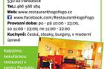 Restaurace Hogo Fogo, Pardubice