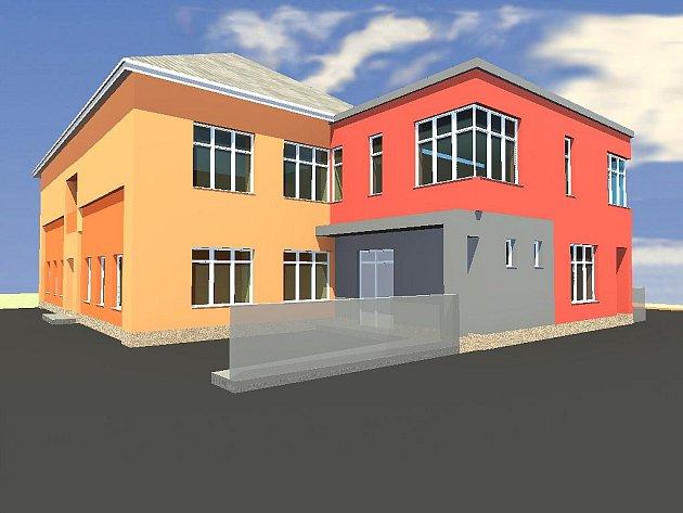 Vizualizace: Takto bude mateřská škola ve Vysoké vypadat po skončení prací, které obec přijdou na milion korun.