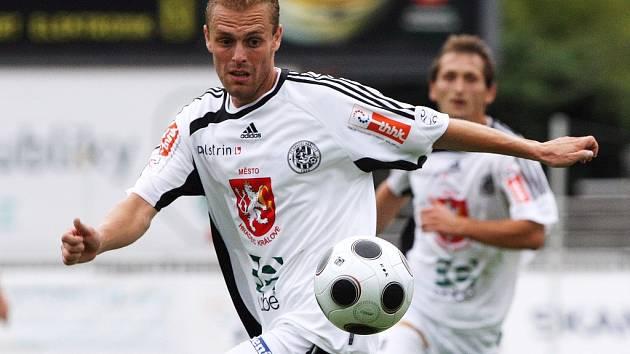 Fotbalista FC Hradec Králové Roman Fischer.