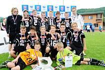 Fotbalisté FC Hradec Králové U13 vyhráli v Ústí nad Orlicí Ondrášovka Cup.