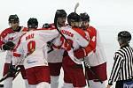 I. hokejová liga - 3. čtvrtfinále play off: Královští lvi Hradec Králové - HC Olomouc.