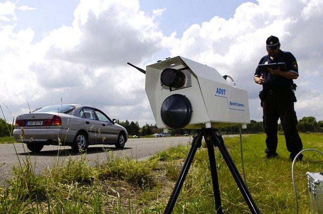 Měření rychlosti radarem