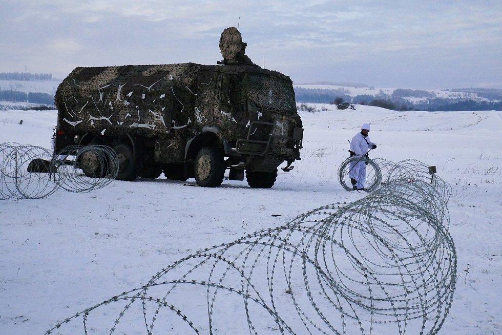 Příprava jednotky pokračuje i v zimních měsících.