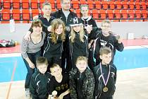 Členové TJ Sokol Hradec Králové na taekwondovém turnaji v Praze nesoucím název Cobra Cup 2014.