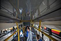 Nové autobusy v dopravním podniku v Hradci Králové