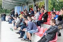 Seminář trenérů fotbalové mládeže v areálu TJ Slavia Hradec Králové.