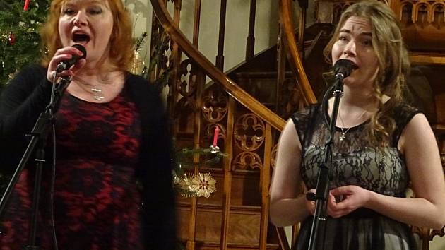 Třebechovický kostel se proměnil v hudební večírek.