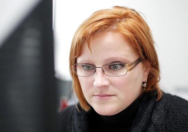 Veronika Kuříková z Katedry kulturních a náboženských studií na hradecké univerzitě během on-line rozhovoru Hradeckého deníku.