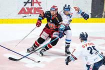 NEDOHRÁNO. Přípravný zápas mezi hokejisty Liberce a Hradce Králové byl předčasně ukončen.