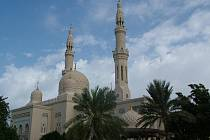 Z cest Kateřiny Slovákové: největší nemuslimská mešita v Dubaji - Jumeirah mosque