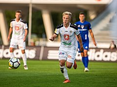 Fotbalová Fortuna národní liga: FC Hradec Králové - FC Sellier & Bellot Vlašim.
