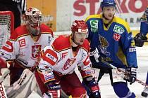Hokejový obránce Jiří Hendrich, HC VCES Hradec Králové