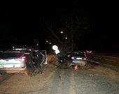 Jízda pod vlivem alkoholu a drog: pokus o ujetí skončil nehodou.
