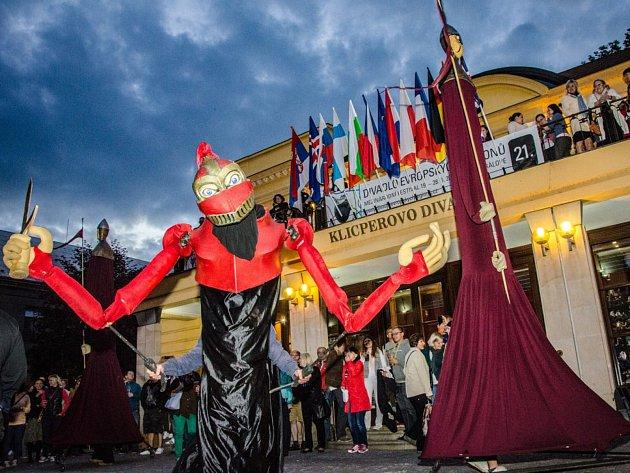 Mezinárodní festival Divadlo evropských regionů.