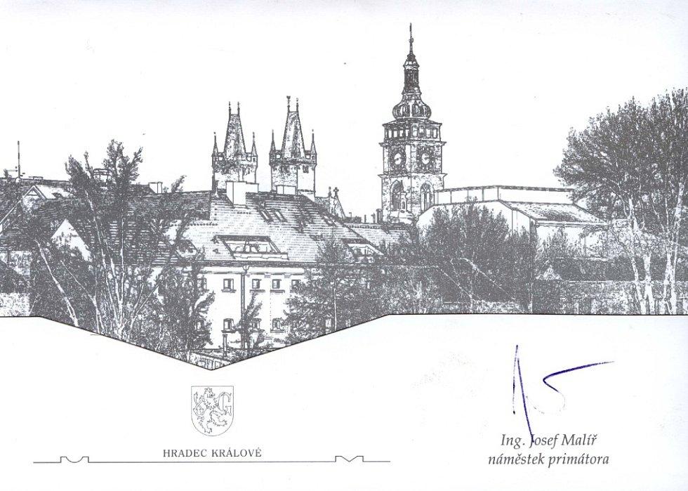 Josef Malíř, magistrát města HK
